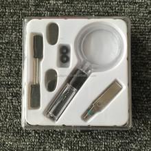 Multifunctional Eyeglass Repair Tool With Magnifier