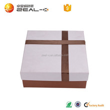 Specialized Europe Exclusively ribbon popular high quality printed rigid paper box for evening dress