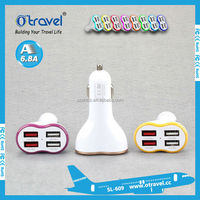 2015 newest 4 usb car charger US/EU/AU/UK plugs for cell phone,camera,MP4