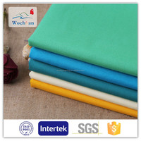 100%cotton tc Solid Dye Suiting Shirting Poplin Fabric