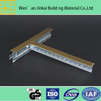 China gold manufacturer competitive flat t grid/metal angle bead