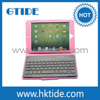 Hot sale bluetooth keyboard tablet case for apple ipad mini
