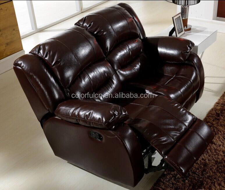 갈색 안락 의자 소파/ 갈색 가죽 안락 의자 소파/ ls630 안락 코너 ...