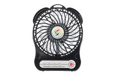5V handheld mini led flashing 5v dc mini fan for desk top