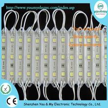 5050 3 LED Module Light DC 12V 0.75W Power Waterproof Led Module Factory Price