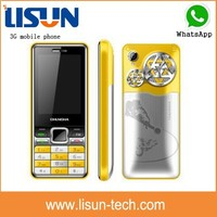 """hot low price 2.4"""" small size 3 sim card TV gsm/ wcdma 3G mobile phone with whatsapp facebook"""