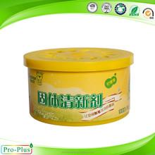 Household air freshener/ funny gel air freshener plastic can pack