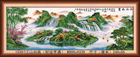 CHINESE WHOLESALE BEAUTIFUL LANDSCAPE FAMOUS DIAMOND PAINTING