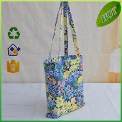 cheap cotton canvas Folding shopping bag