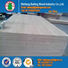 Ash wood veneer laminate mdf board
