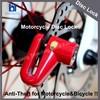 Motorcycle Disc Lock Bike Wheel Locks Bicycle Lock USD1.10 per pcs