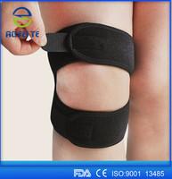 Adjustable patella knee strap, neoprene knee support, knee brace for climbing/riding