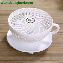Coffee cup mini fan/colorful lovely gay wedding gifts