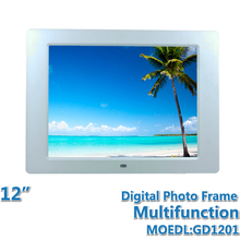 12 inch Digital screen Multifunction Digital Photo Frame