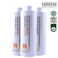 Keratin Smoothing hair straightening bulk hair care products professional brazilian keratin hair treatment nano keratin