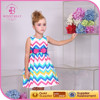 Alibaba wholesale apparel , children's clothing , chevron girls' dresses