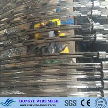 Sécurité clôture de fer barbelé de rasoir / rasoir combat fil / de sécurité fil de rasoir ( ISO9001 : 2008 fabricant professionnel )