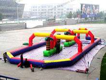 EN14960 Pop commercial grade CE, BV inflatable games china inflatable race