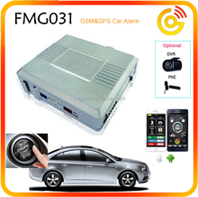 Push Start GPS GSM Car Alarm System, Car Alarm That Calles Cell Phone-FMG031