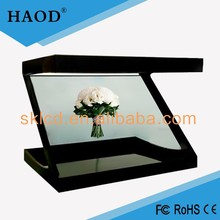 10 Inch 3D Holographic Advertising display /lcd showcase