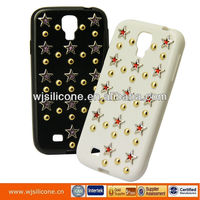 Tpu Cases For Samsung I9500/S4, for S4 tpu cases with studs