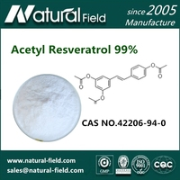 Water Soluble Acetyl Resveratrol 99% HPLC