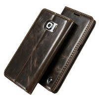 iCase Free shipping UK Best Selling Caseme Wallet Case For Samsung Galaxy S6 edge with Unique Magnet Design