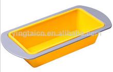 de silicona torta del molde de silicona para hornear la torta bandeja de grado de alimentos de silicona molde de la torta