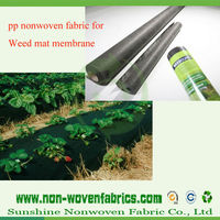 100% PP spunbond nonwoven fabric weed control