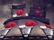 2015 hot sale 3d bedding set famous brand 3d bedding