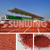 recycled rubber granules for playground