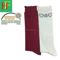 children lovely heart socks long tube