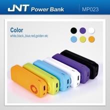 Ultra slim 3600MAH portable power bank rubber coating MP023