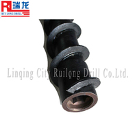 coal well spiral drill rod
