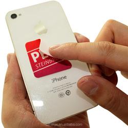 microfiber mobile phone sticker