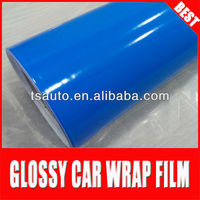 TSAUTOP RoHS certificate 1.52*30m air Free bubbles glossy air free gloss vinyl car roof skylight wrap