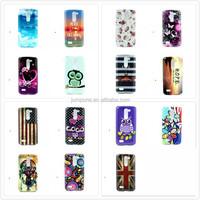 Campanula flower lovers owl flag tpu soft cover case for LG L Bello D331 D335 D337