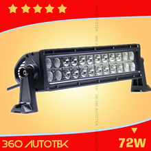 Best Auto Electrical System 4x4 led bar 72W Off Road 12inch Led Light Bar