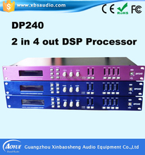DSP 32 Bits High Speed Processing System DP240 Digital Audio Processor with Gain,EQ,Crossover,Delay,Mute,Limiter Application