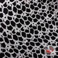gros dentelle sequin tissu en fibre de lait