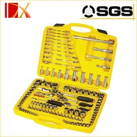 """120 Pieces Auto repair Socket Wrench Set 1/4"""" 3/8"""" & 1/2"""" tool kits"""