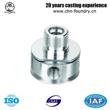 CNC Machined Precision Machined Communication Adapter Aerospace Industries Spare Parts