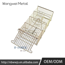 Factory supply large supply dog cage with wheels