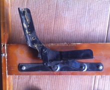Hot sell adjustable click clack Sofa hinge, good quality,cheap price, metal sofa bed backrest hinge
