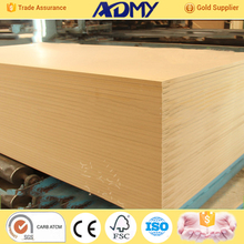 2015 ADMY best price 1830 mdf all thickness factory in china