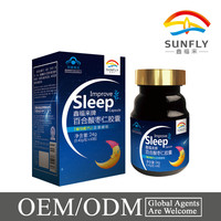 Improve sleeping herbal capsules OEM