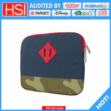 factory wholesale price polyester 600D 12.5inch laptop sleeve