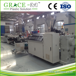 CE approved 20-63mm PVC dual pipe extrusion machine for sale