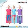 Womens blank Dri Fit shirts wholesale , 100% polyester T-Shirts, OEM service sports shirts