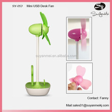 USB Cartoon Mini Fan